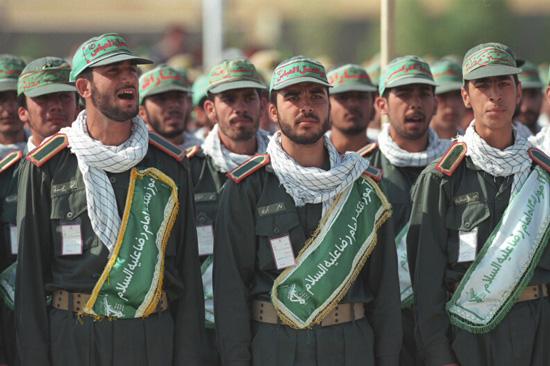 Membres du Corps des Gardiens de la révolution islamique en Iran / Crédits : Wikipedia Commons