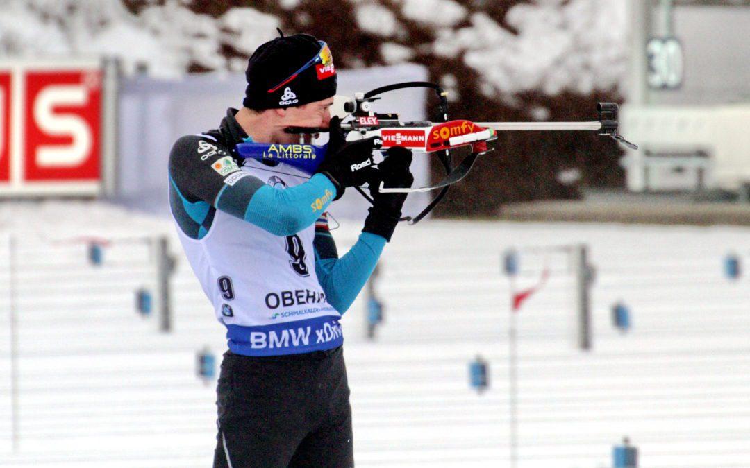 Les Bleus du biathlon brillent à quelques jours des championnat du monde. Crédit Wikimédia Commons