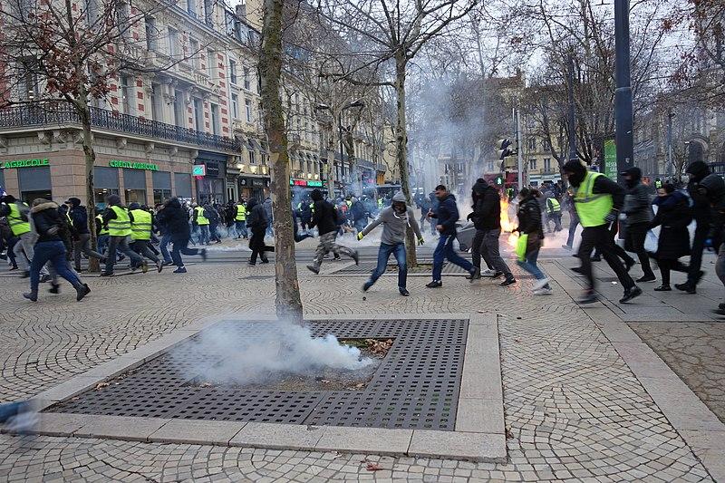 Une grenade controversée retirée. Crédit Wiikimedia Commons