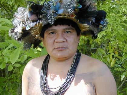 Le chef indigène a disparu depuis samedi. Crédit Babelio