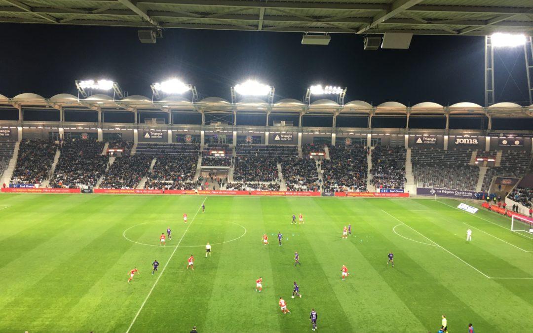 Toulouse à enfin enrayé la série défaite. Crédit : Medy Guillonneau