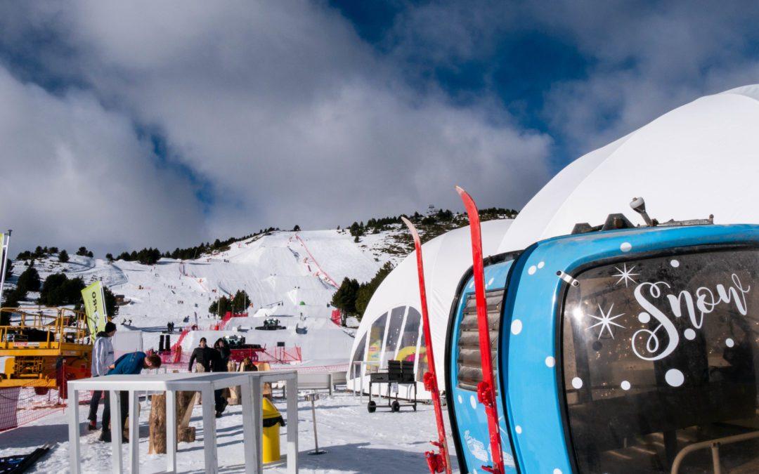 Les coulisses de la coupe du monde de slopestyle - Charlotte Bartczak