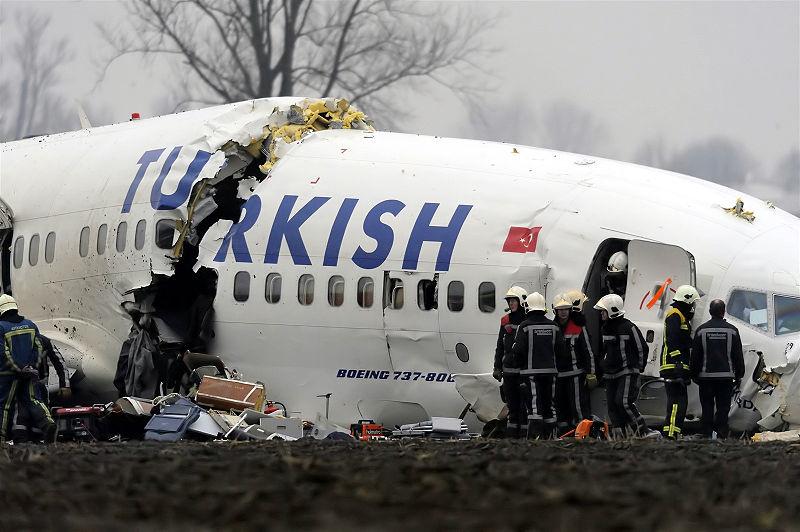 Un avion de la compagnie Pegasus s'est discloqué à Istanbul. Crédit : Wikimedia Commons. radio netherland wereldomroep.