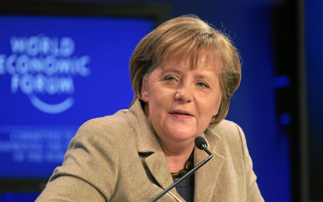 Angela Merkel nettoie son parti de l'extrême droite Crédit : Wikimedia Commons