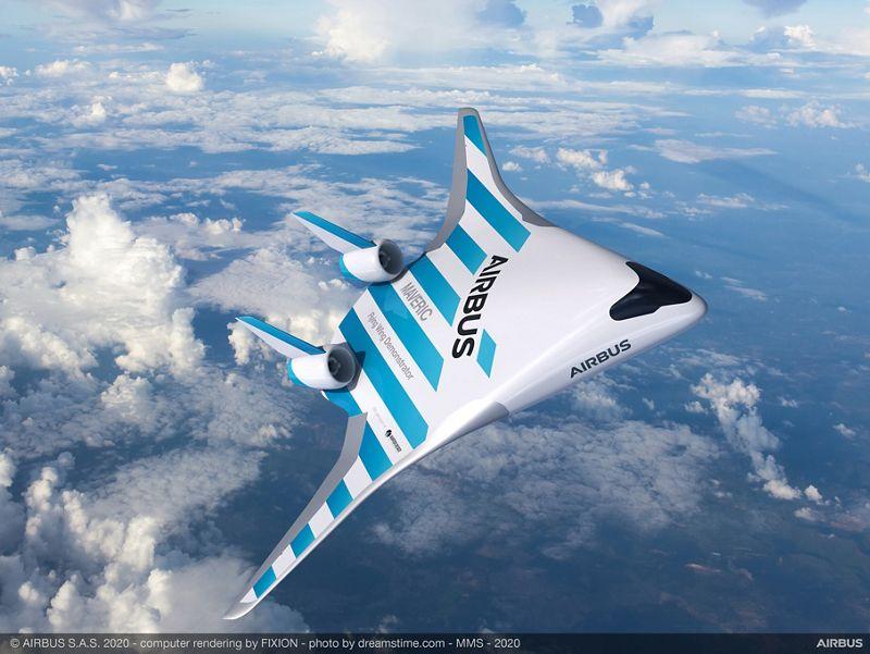 Le nouveau prototype d'Airbus, Maveric / Airbus