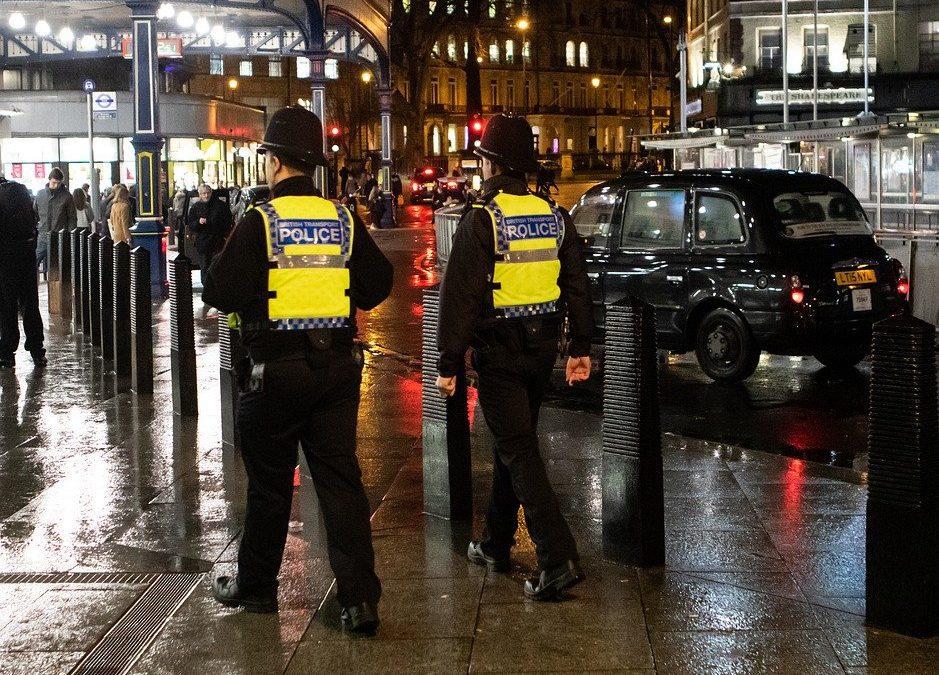 Police britannique Londres