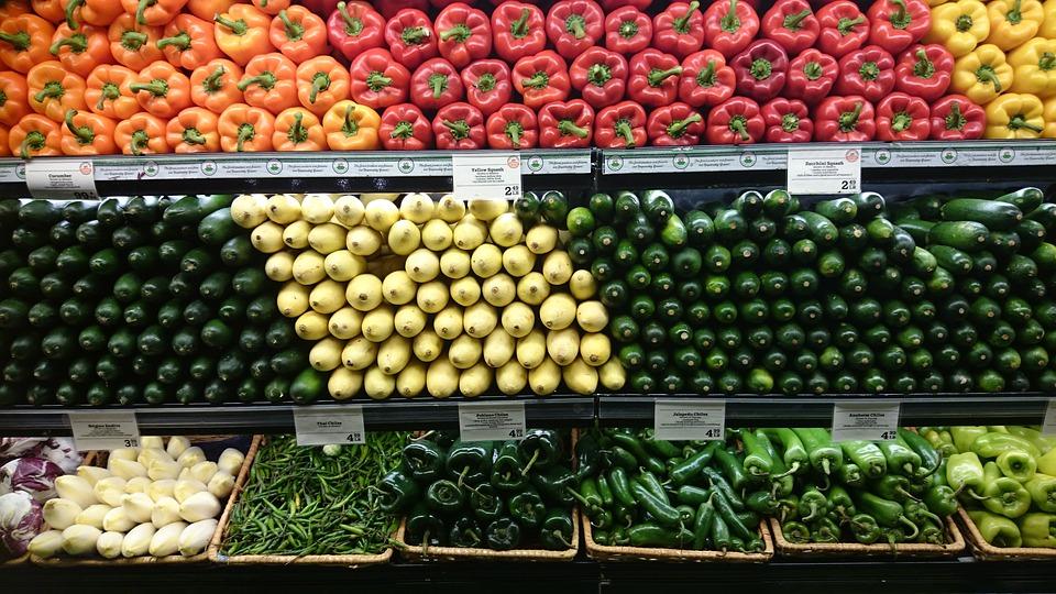 Les grandes surfaces essaient de suivre les changements alimentaires des consommateurs.
