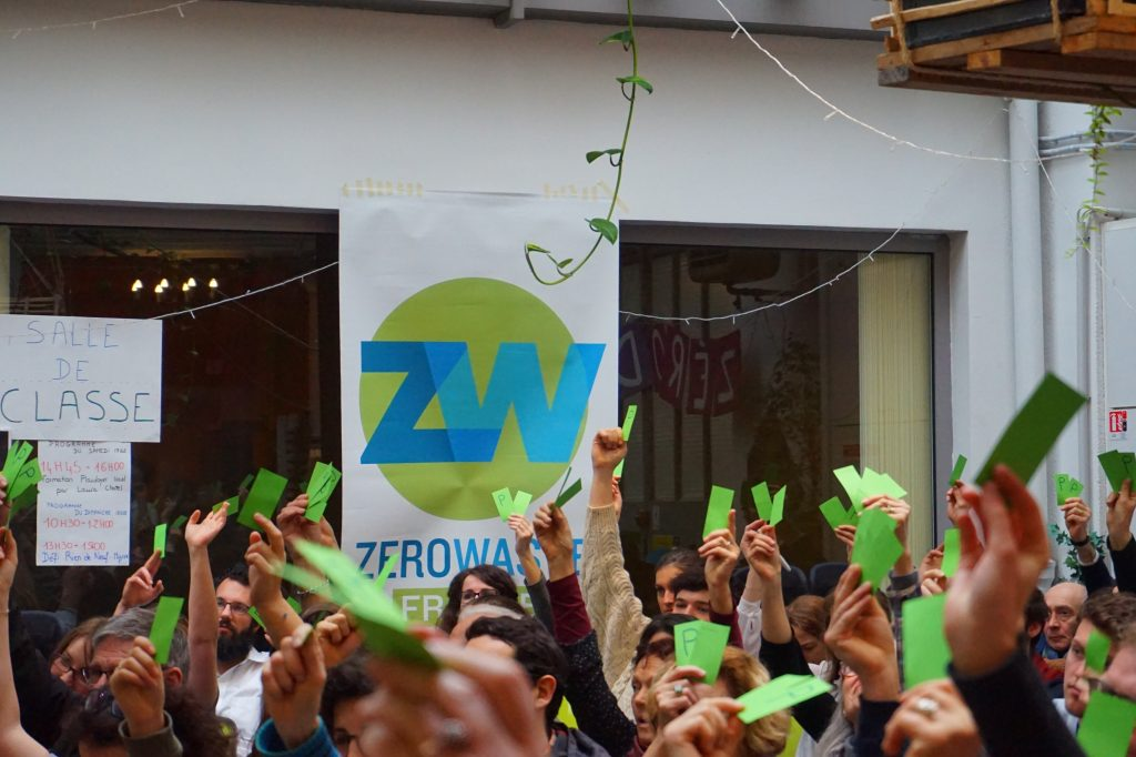 ZeroWaste Toulouse a enquêté sur les déchets des toulousains. Crédit : ZeroWaste France