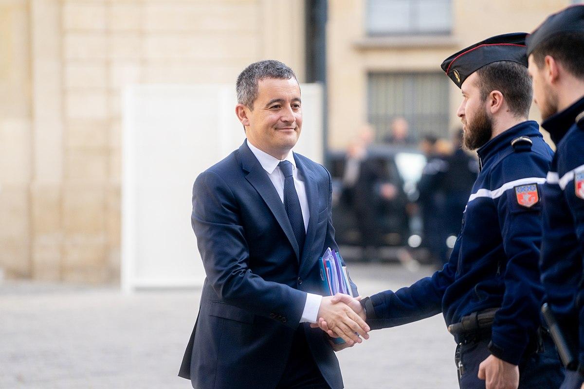 Ministre de l'Intérieur, Gérald Darmanin fait l'objet d'une enquête pour viol. - Crédits : CC BY 2.0 / Jacques Paquier