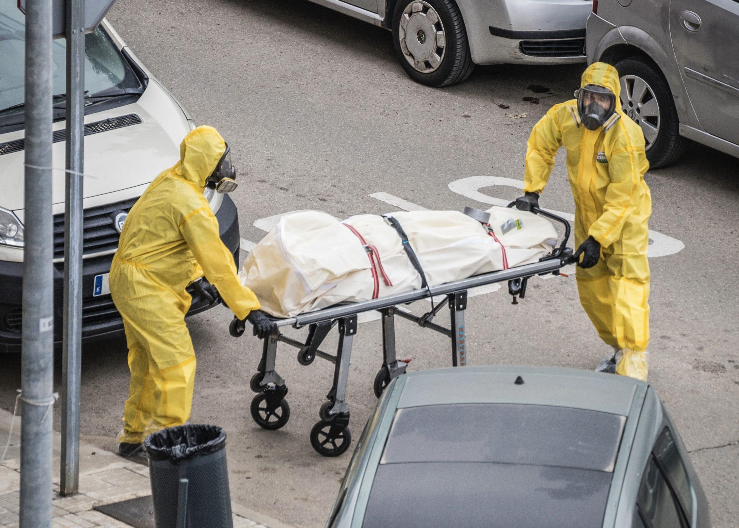 Les conséquences de la pandémie sur la mortalité des français s'observe déjà. Crédit : Isaac Quesada