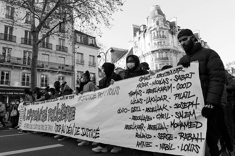 Mobilisation à Toulouse comme dans toute la France contre la loi de sécurité globale - Crédits : CC BY-SA 4.0 par Jules
