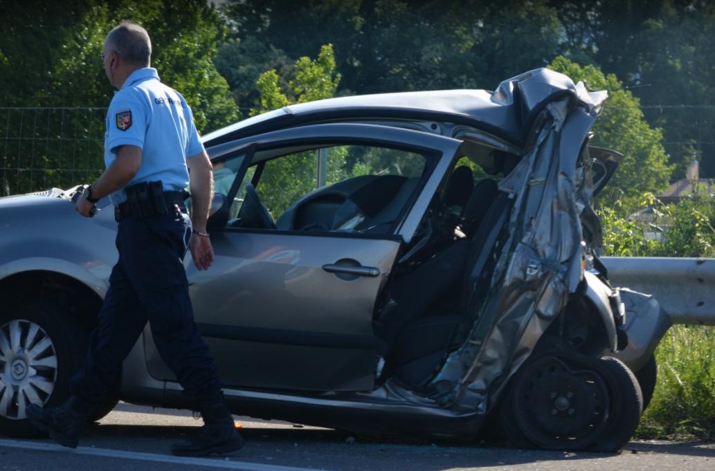 Le nombre d'accidents corporels et le nombre de blessés est également en nette baisse en 2020, en Haute-Garonne
