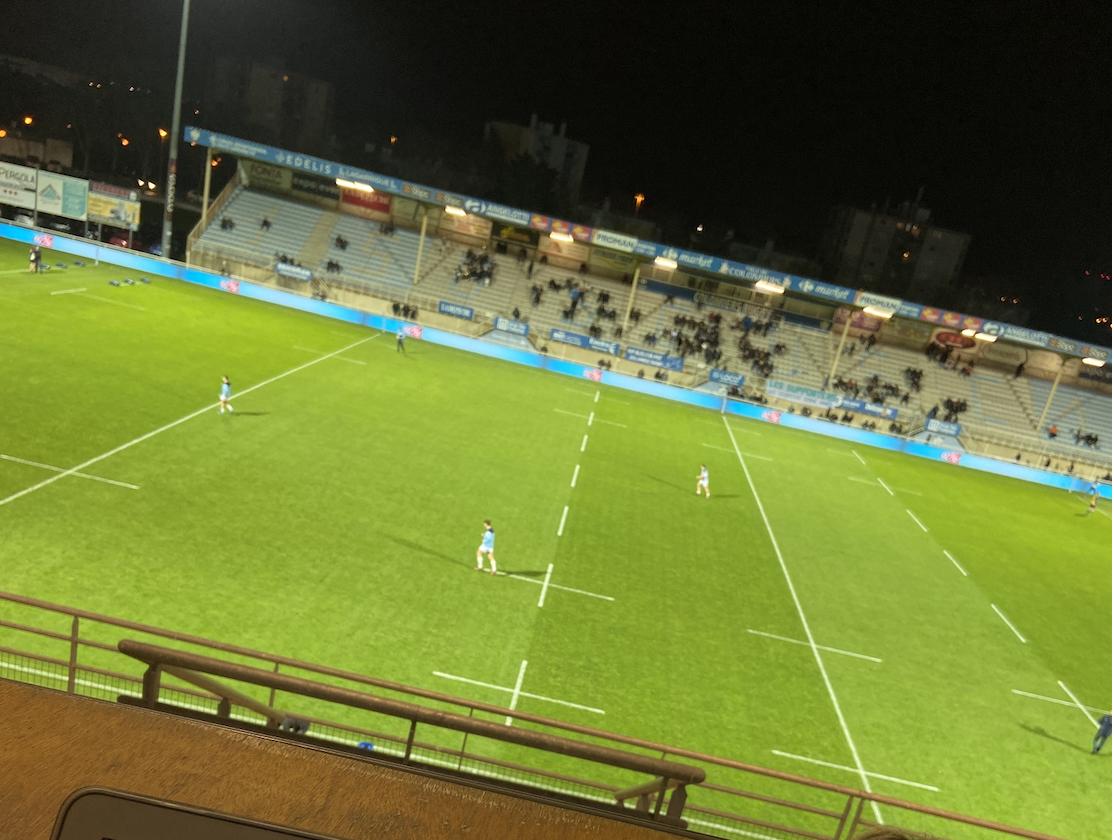 Le Stade Michel Bendichou sera la terre d'accueil du premier match de la double confrontation au sommet entre Colomiers et Biarritz.