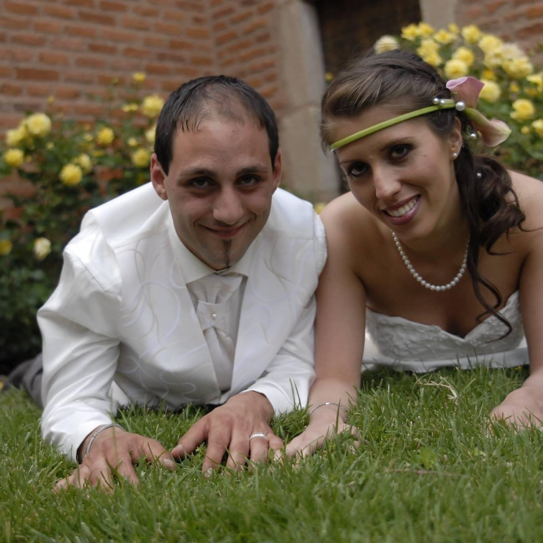 Cédric (son mari) et Delphine. Crédit photo : Profil Facebook de la disparue.