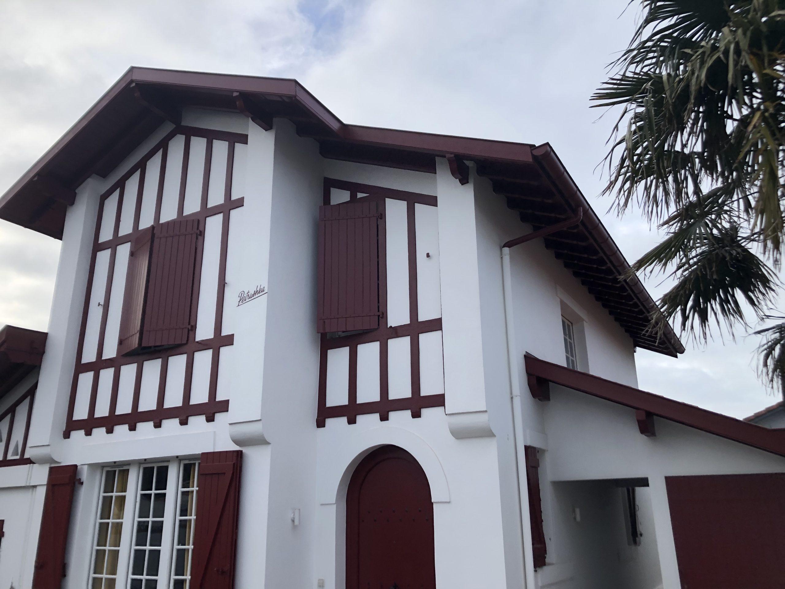 Une maison basque typique/ Charles Déqué