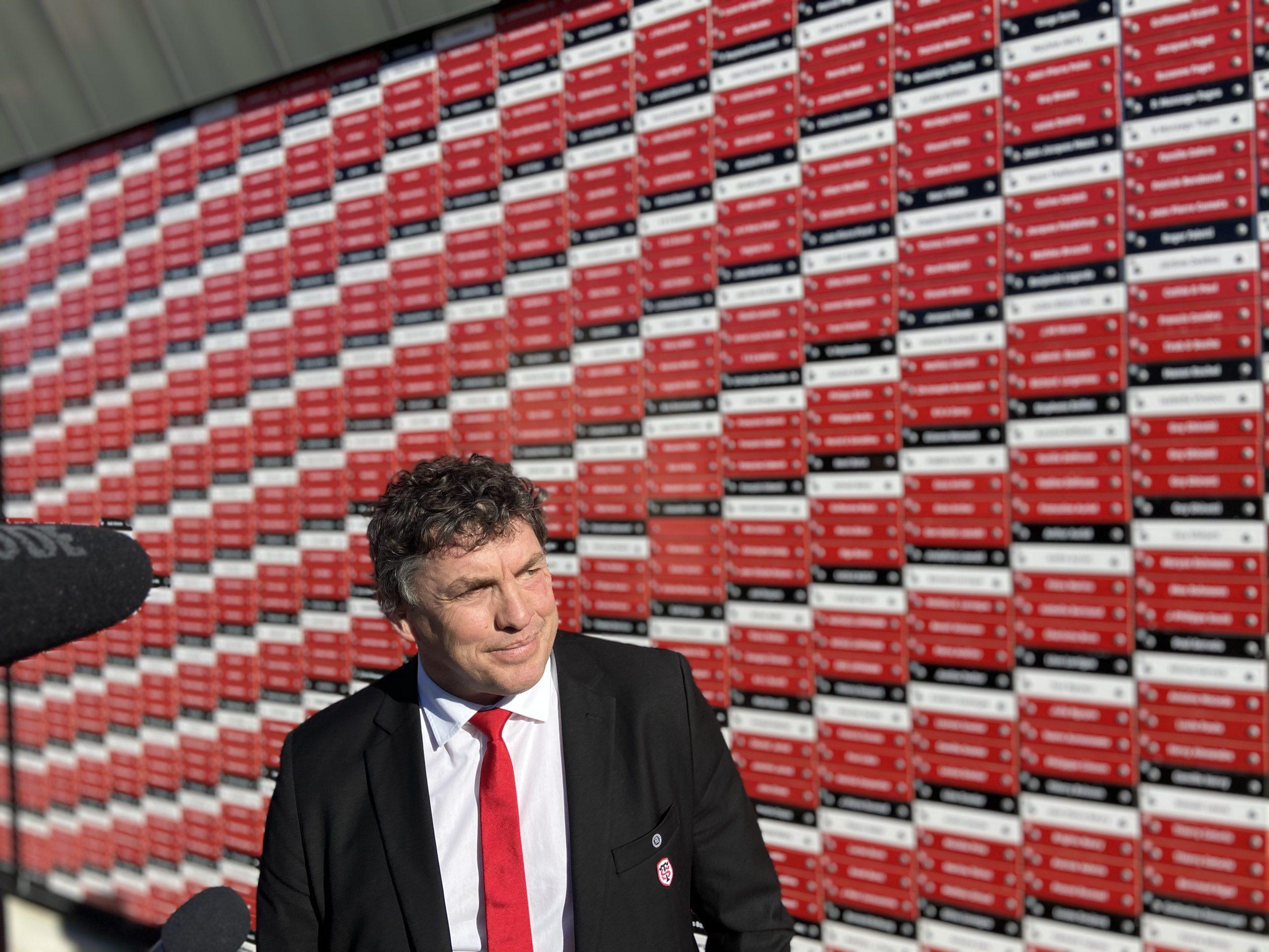 Didier Lacroix pointe le retour du public dans les stades comme le premier souhait du Stade Toulousain en 2021