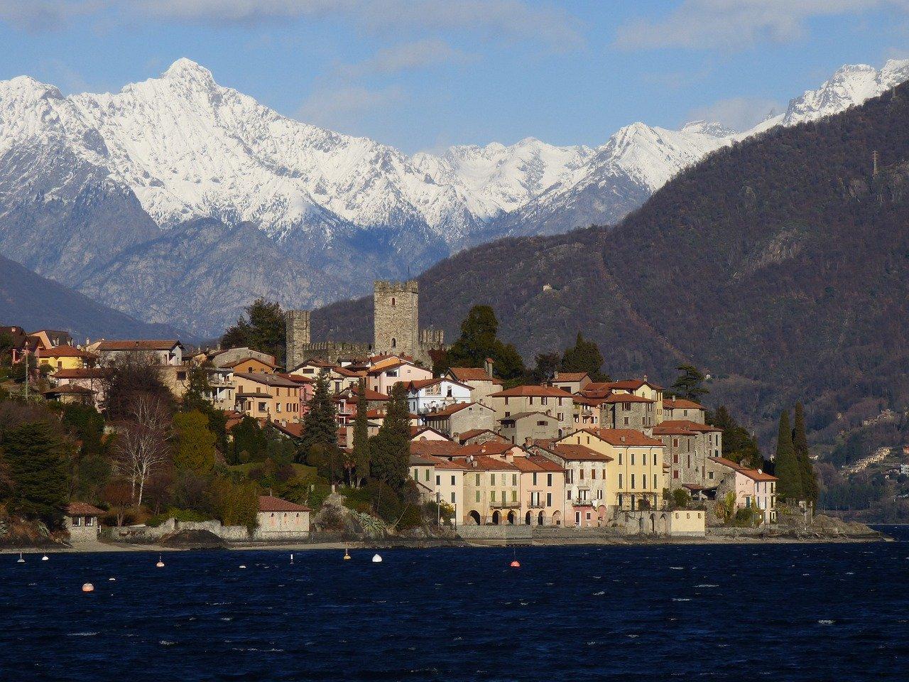 La région de Lombardie, dans le nord de l'Italie, a été confiné une semaine à cause d'un mauvais calcul. - Crédits : Creative Commons