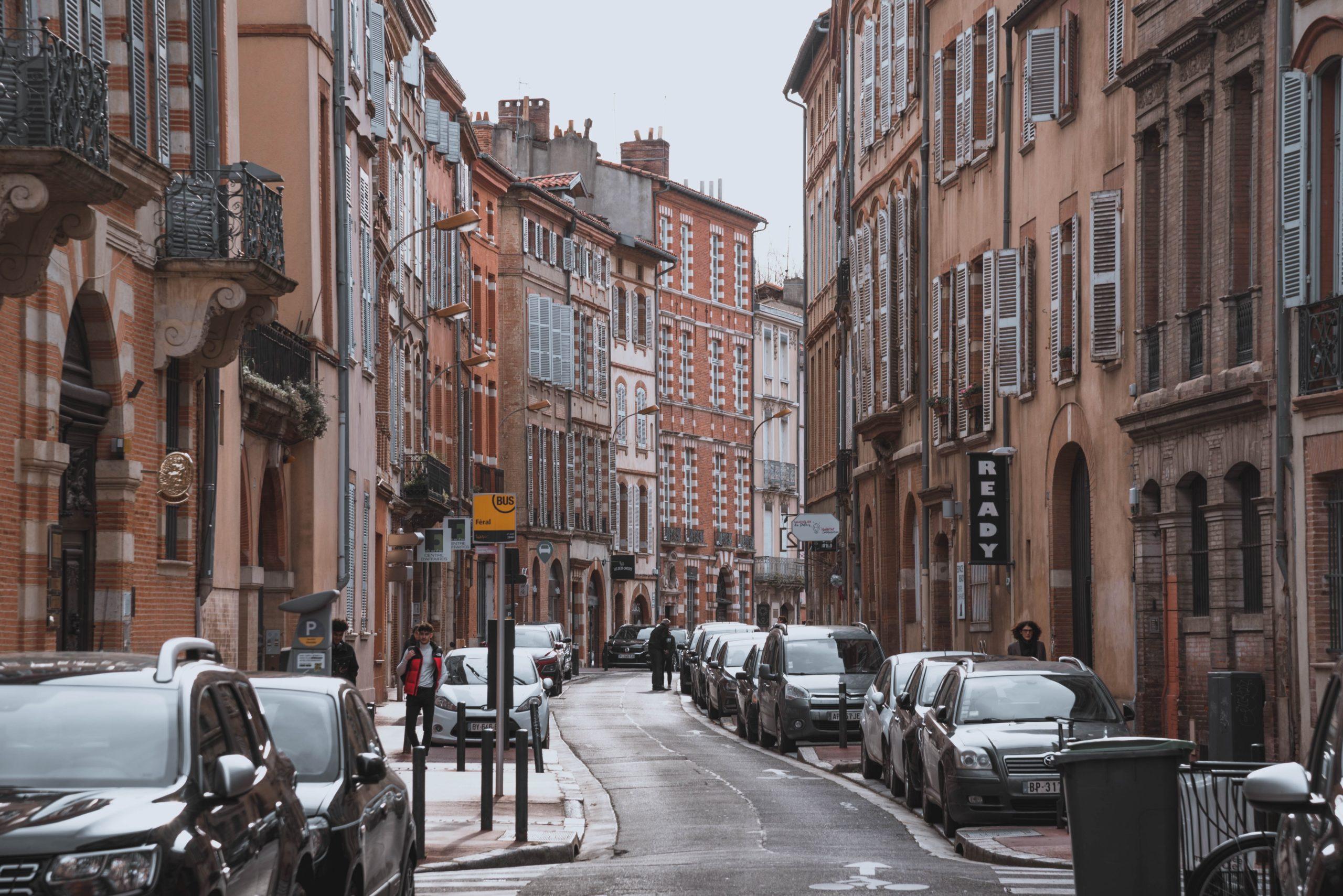 Les embouteillages ont globalement diminué de 7 points à Toulouse sur l'ensemble de la journée. Crédit : Unspalsh