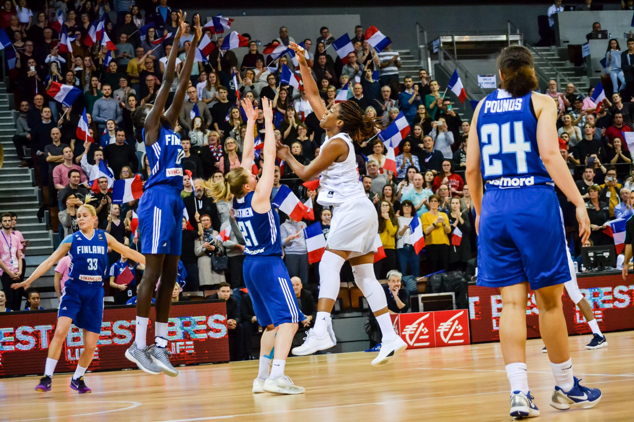 TQO 2019 - Match France Finlande. Crédits : WikiCommons